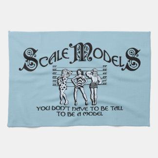 Modelos de escala toallas