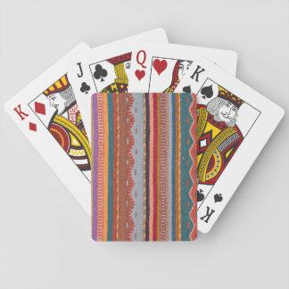 Modelos de la manta cartas de juego