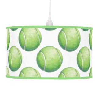 Modelos de la pelota de tenis lámpara de techo