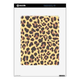 Modelos de la piel animal del estampado leopardo iPad calcomanía