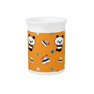 Modelos de las bolas de la panda y de arroz jarron