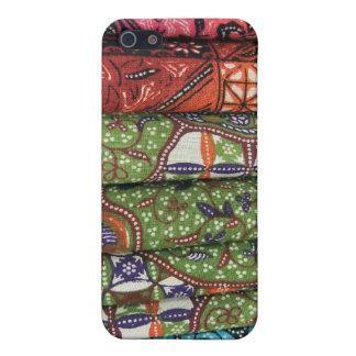 Modelos de los sarong del batik iPhone 5 cárcasa