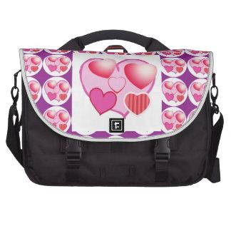 Modelos del amor: Tema rosado Bolsa De Ordenador