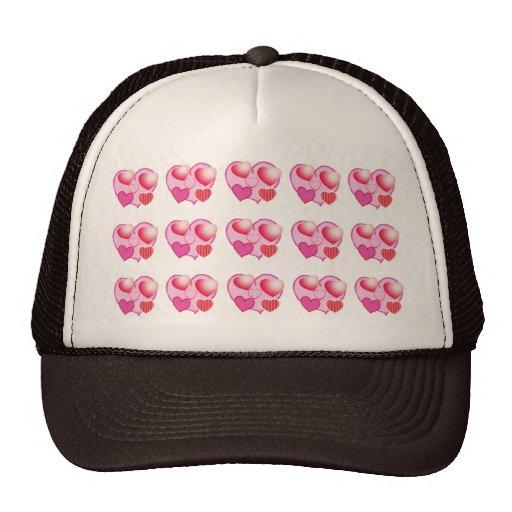 Modelos del amor: Tema rosado Gorros Bordados
