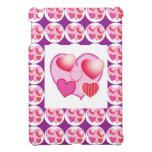 Modelos del amor: Tema rosado iPad Mini Fundas