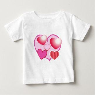 Modelos del amor: Tema rosado Playera De Bebé