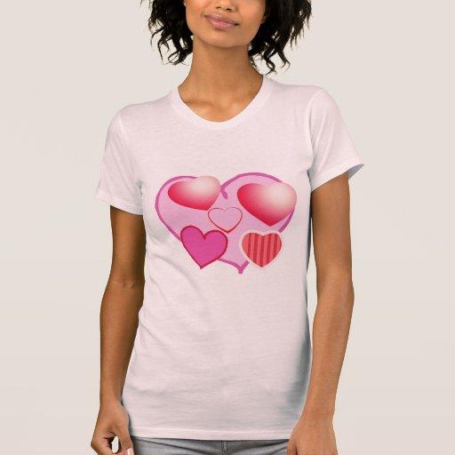 Modelos del amor: Tema rosado Playeras