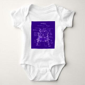Modelos del módulo lunar de Apolo Body Para Bebé