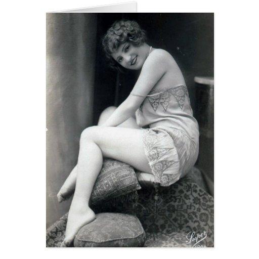 Modelos desnudos del vintage (15) .jpg felicitacion