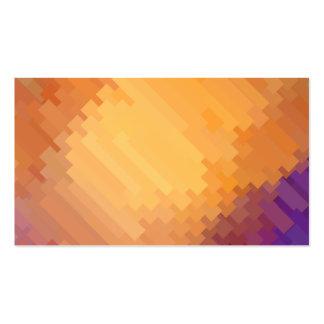 Modelos geométricos el | tiras púrpuras y del tarjetas de visita