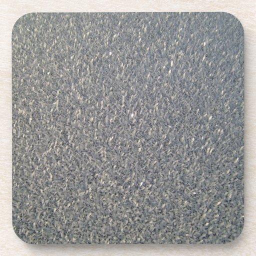 Modelos grises de la tela posavaso