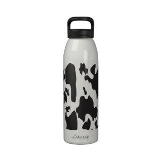 Modelos lindos del ganado del MOO de la vaca de Botellas De Beber