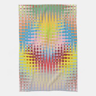 Modelos multicolores del arte de papel del diamant toallas de mano