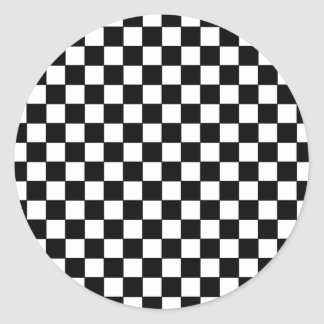 modelos negros del control pegatina redonda