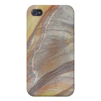 Modelos ornamentales - efecto de madera del grano iPhone 4 carcasa