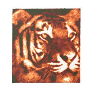 Modelos perdidos del tigre blocs de notas