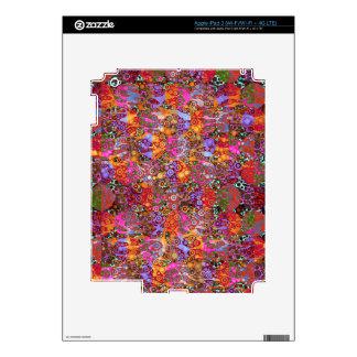 Modelos psicodélicos del estampado de animales iPad 3 pegatina skin