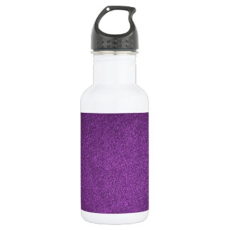 Modelos retros de la púrpura del damasco del botella de agua