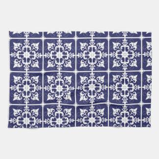 Modelos tejados toallas de mano