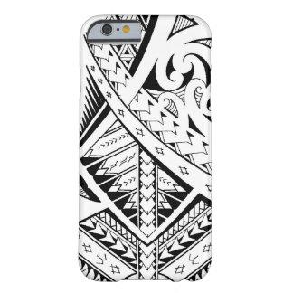 Modelos tribales mezclados del tatuaje en estilo funda de iPhone 6 barely there