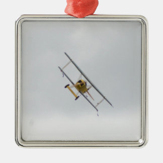 Models Of German WW1 Fighters Square Metal Christmas Ornament
