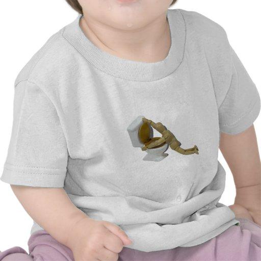 ModelSickIntoToilet110511 Camisetas