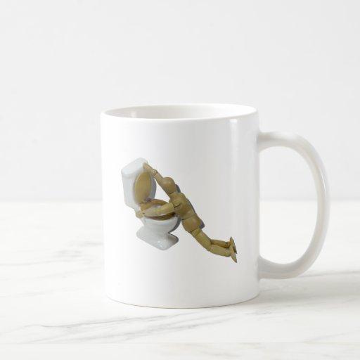 ModelSickIntoToilet110511 Classic White Coffee Mug