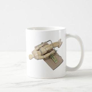 ModelTrappedMouseTrap062011 Coffee Mug