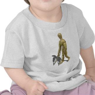ModelWalkingWithCrutches110511 T Shirt