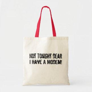 Modem Headache Budget Tote Bag