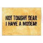 Modem Headache Card