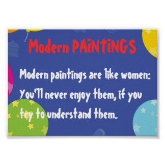Moden Paintings and WOMEN Posters