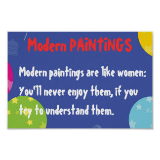 Moden Paintings and WOMEN Print