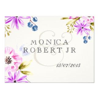 Moden Sketchy Flower Bouquet Card