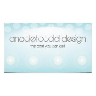 moder lights tech circles bussiness card