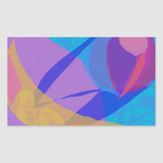 Moderate Experiment Rectangular Sticker