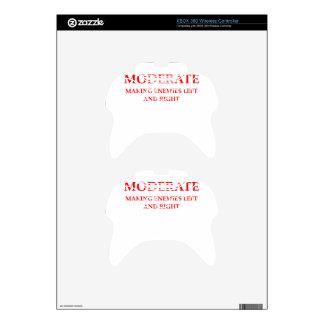MODERATE XBOX 360 CONTROLLER SKIN
