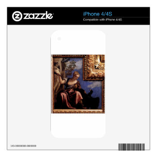 Moderation by Paolo Veronese iPhone 4S Skin