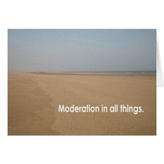 Moderation... Card