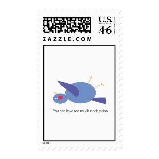 Moderation Postage stamp