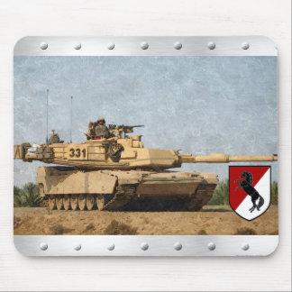 Modern 11th ACR M1 Abrams Tank Mouse Pad