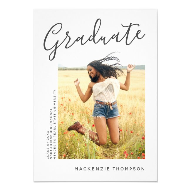 Modern 2020 Graduation Party Invitation