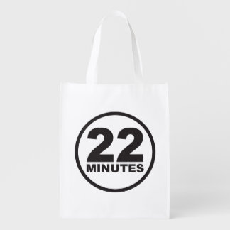 Modern - 22 Minutes Reusable Grocery Bag