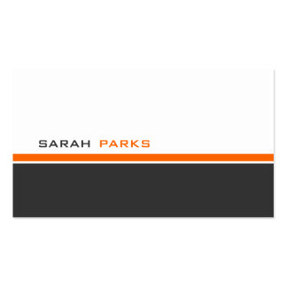 Modern 3 Color B Double-Sided Standard Business Cards (Pack Of 100)