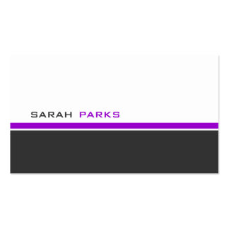 Modern 3 Color D Business Card