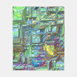 modern 3d art 03 (I) Fleece Blanket