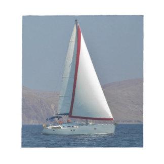 Modern 47 Foot Yacht Memo Note Pad