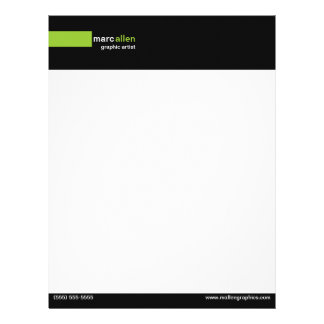 Modern 519 Customizable Personalized Letterhead