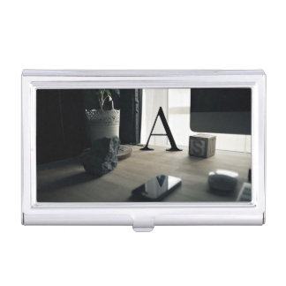 modern A interior collection Case For Business Cards