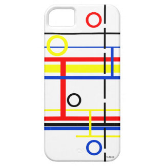 Modern Abstract 5/5s Phone Case